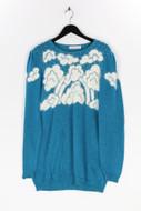 MALINA WONG - vintage-strick-pullover mit pailletten - D 40