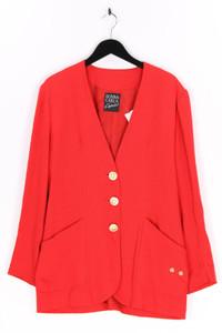 DONNA CARLA - blazer mit schmuckstein-applikation - L