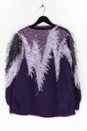 Ohne Label-Strick-Pullover mit Metallic-Effekt mit Metallic-Effekt-D 42