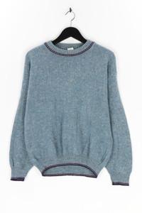 Ohne Label - rundhals-pullover aus woll-mix - M