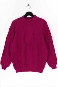 Ohne Label - strick-pullover mit rüschen - M