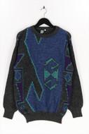 LUPO UOMO - vintage-rundhals-pullover aus woll-mix - 54