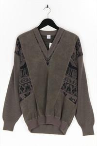 DETLEV ALBERS - v-neck-pullover mit schurwolle - 50