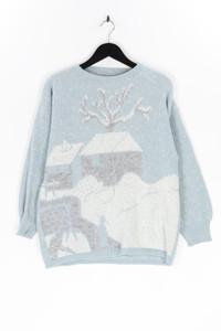 Ohne Label - strick-pullover mit wolle - XXL