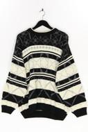 Ohne Label-Rundhals-Pullover -XL