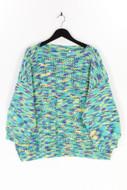 Ohne Label-Strick-Pullover aus Lochstrick aus Lochstrick-XXXL