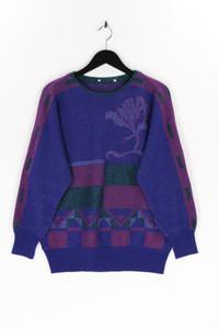 Ohne Label - glitzer-strick-pullover - D 40