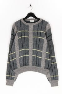 Les Copains - pullover mit karo-muster - L