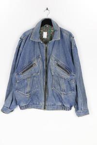 Ohne Label - 80s-jeans-jacke mit zipper - M