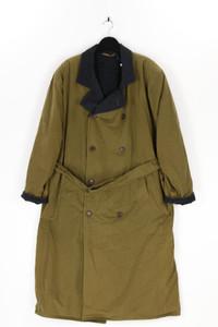 BOSS - mantel aus baumwolle mit gürtel - 54