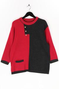 Ohne Label - strick-pullover aus woll-mix mit 3/4-ärmel - D 40-42