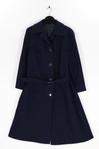 ACTUEL MODELL MÜNCHEN-WIEN - winter-mantel aus schurwolle mit gürtel - D 44