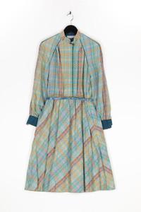 Betty Barclay - muster-maxi-kleid aus baumwolle mit gürtel - D 38