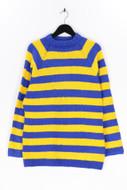 Ohne Label-Strick-Pullover mit Streifen mit Streifen-D 44-46