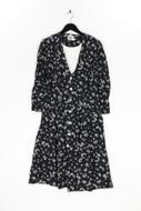 LESLIE FAY - kleid mit floralem muster - D 40