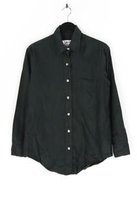 Rafaella - bluse mit aufgesetzten taschen, aus leinen - S