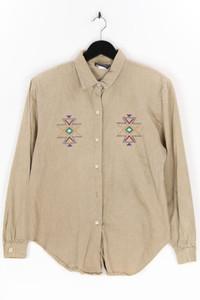 Bentley Arbuckle - hemd-bluse mit stickereien, aus baumwolle - L
