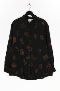 TRAVELSMITH - hemd-bluse mit print, aus viskose - L