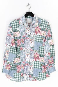 CAPACITY - bluse mit muster-print mit floralem muster, aus baumwolle - M