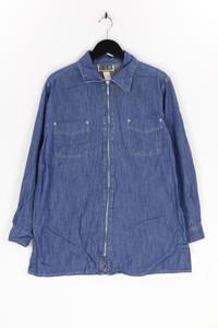 FORENZA - jeans-bluse mit reißverschluss - M