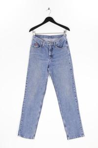 Twenty X - straight cut jeans mit logo-applikation - L