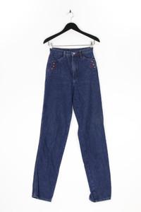ROCKIES - high waist- straight cut jeans mit streifen - S