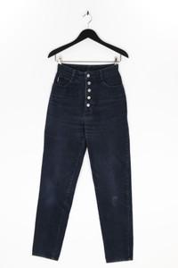 BONGO - straight cut jeans mit logo-applikation - M