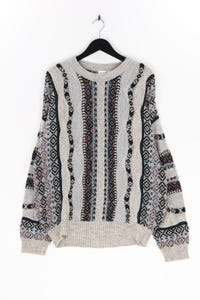 Ohne Label - muster-pullover - L