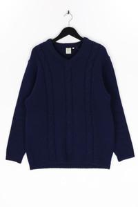 GEYER - strick-pullover mit zopf-muster, aus wolle - D 50