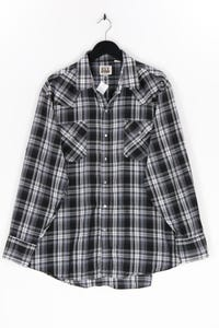 ELY CATTLEMAN - kariertes hemd aus baumwoll-mix - XL