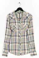 SALT VALLEY WESTERN - kariertes hemd aus baumwolle mit metallic-effekt - XL