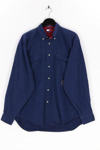 TOMMY HILFIGER - button-down-hemd aus baumwolle mit logo-stickerei - L