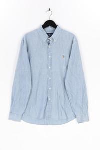 RALPH LAUREN - jeans-hemd aus baumwolle mit logo-stickerei - XL