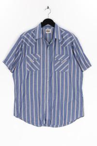 ELY CATTLEMAN - kurzarm-hemd mit streifen - L