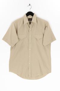 PLAINS - kurzarm-hemd mit aufgesetzten taschen - M