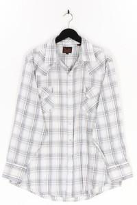 PLAINS - kariertes hemd mit aufgesetzten taschen - XL