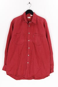Levi´s RED TAB - jeans-hemd mit logo-badge - M
