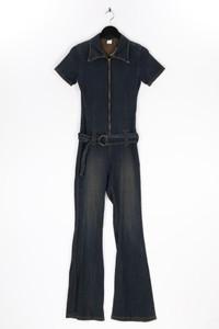 Ohne Label - jumpsuit aus baumwolle mit stretch - S