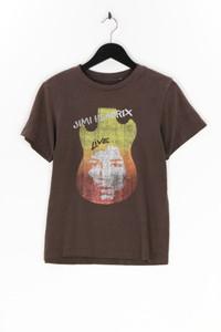 OLD NAVY - kurzarm-shirt aus baumwoll-mix mit print - M