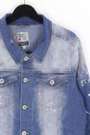 Bleecker & Mercer - jeans-jacke im used look - S