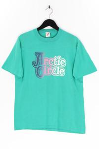 JERZEES - t-shirt aus baumwoll-mix mit print - L