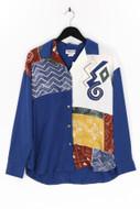 BONNIE BLAIR - bluse mit muster-print mit stickereien - L