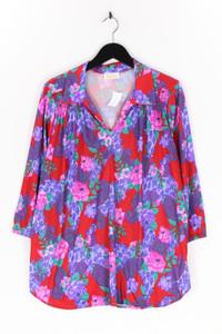 ROAMANS - long- tunika-bluse mit floralem muster - L