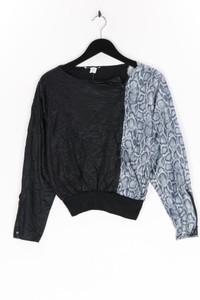 Ohne Label - longsleeve-shirt mit animal-print - L