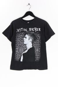 Ohne Label - kurzarm-shirt mit foto-print - M