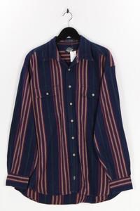 DOCKERS - hemd aus baumwolle mit streifen - L