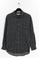 PERRY ELLIS - hemd mit print - M