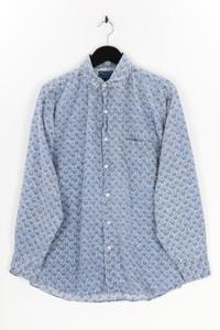 Shah Safari - hemd mit aufgesetzten taschen mit print - M
