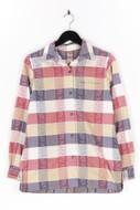 Ohne Label-Hemd-Bluse mit floralem Muster mit floralem Muster-L