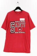Ohne Label-T-Shirt mit Print mit Print-XL
